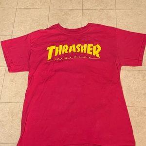 Pink thrasher t shirt